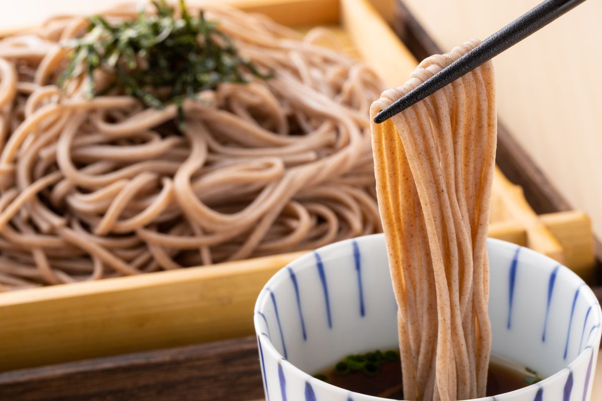 soba cucina giapponese salutare